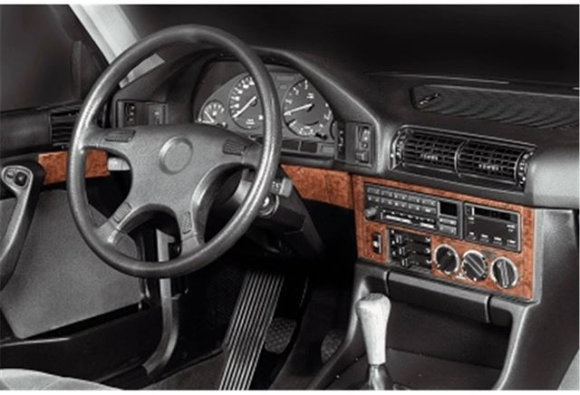 Dash Trim Kit For Bmw 5 Series E34 1988 1995 Worldwide Shipping