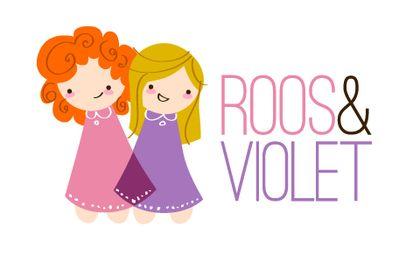 stofjes roos & violet