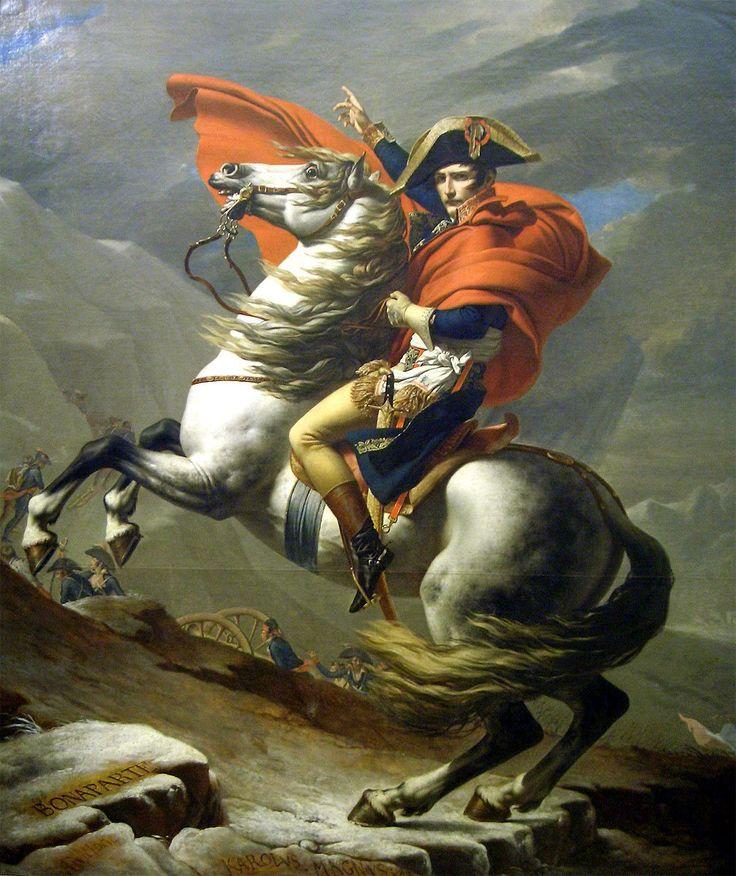 생 베르나르 고개를 넘는 나폴레옹- 자크 루이 다비드