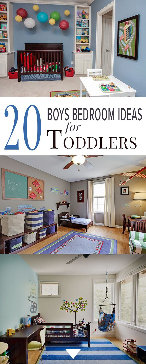 17 best ideas about toddler boy bedrooms on pinterest for Boy small bedroom ideas