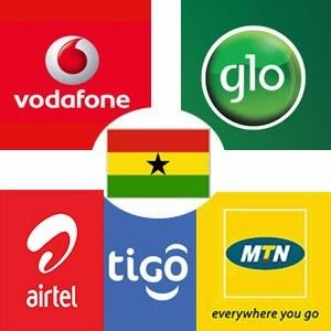 Internet Settings and Mobile Network Access Point Names in Ghana.