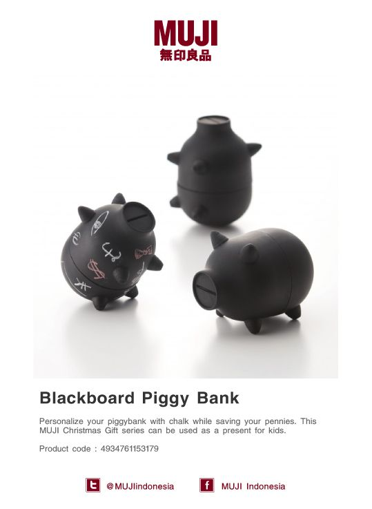 Personalize your piggy bank with chalk... Make it fun while saving your pennies. Oink!