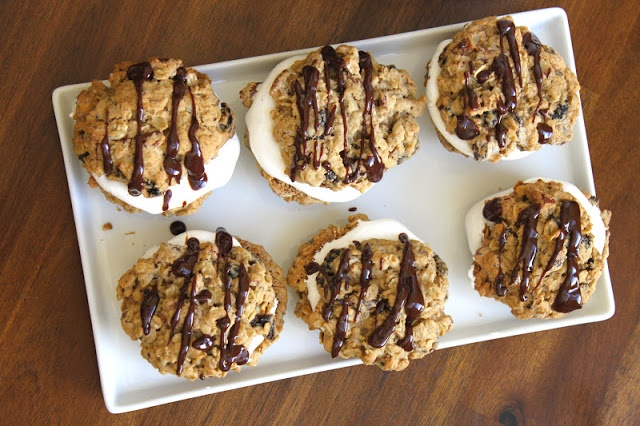 Chocolate-Oatmeal Moon Pies | Cookies | Pinterest