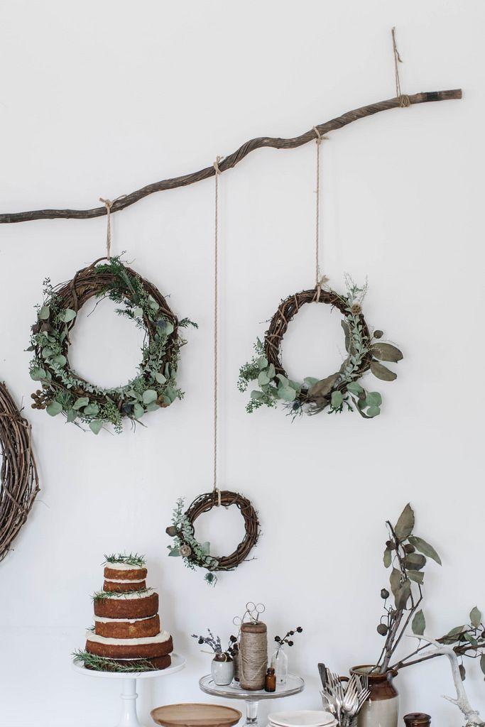 Local Milk | merry & bright | gingerbread sorghum cake + diy wreaths & muslin wrapping /