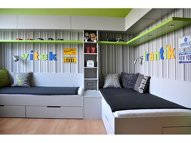 дизайн детской комнаты для двух мальчиков – Google Поиск ...