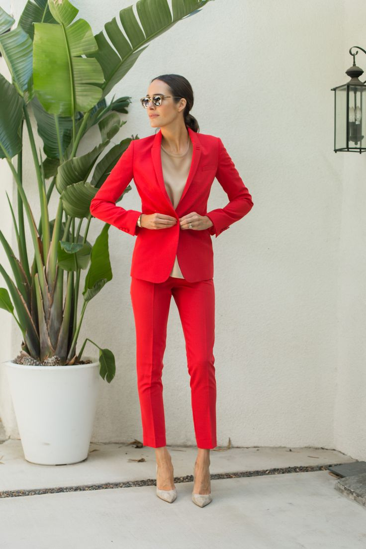 best 25+ red suit ideas on pinterest | women's celebrity style