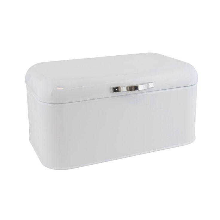 Ib Laursen Brotdose aus Metall Weiß klein