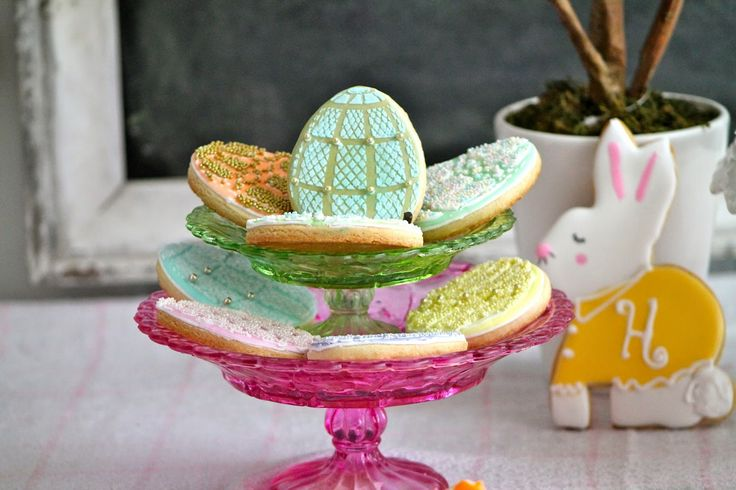 Faberge Style  Easter Cookies @ mil grageas, perfect to decorate your Easter Brunch table.