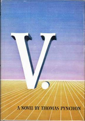 """V"" at L: Alexander Nazaryan looks back at Thomas Pynchon's first novel as it turns fifty: http://nyr.kr/16mlGZv"