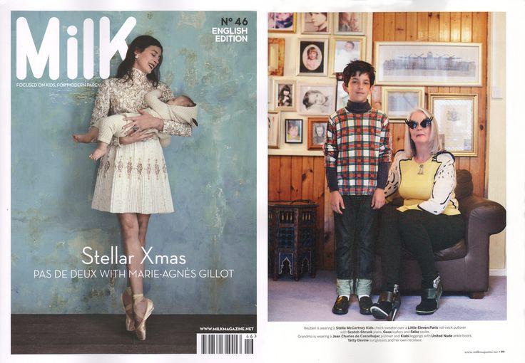 Scotch & Soda featured in Milk France | December 2014