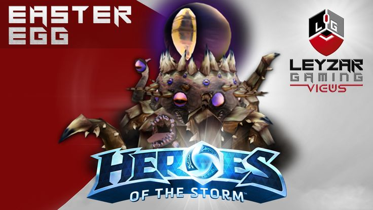 Heroes of the Storm - Warhead Junction Easter Egg - C'thun Reference ?