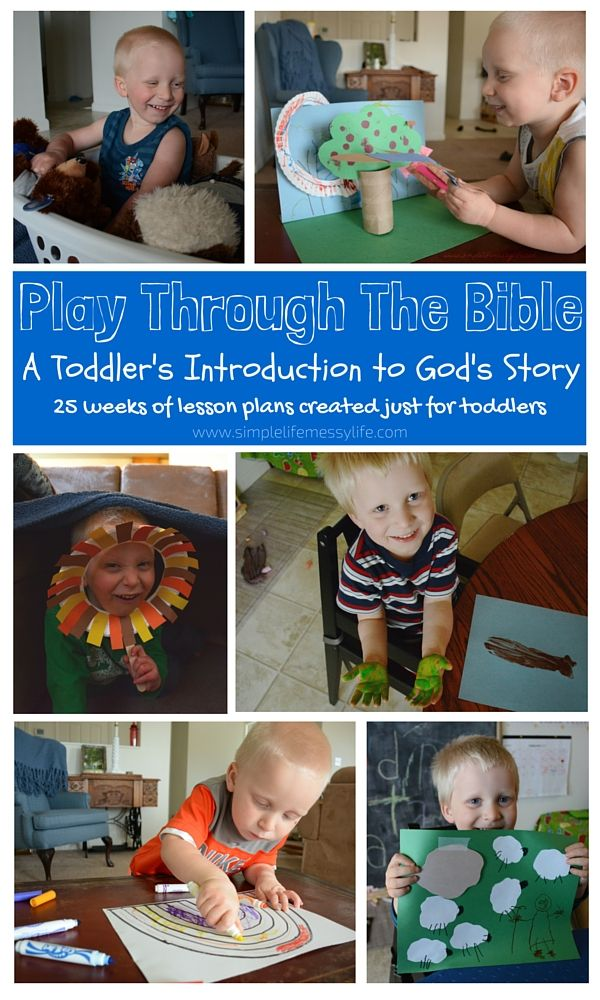 Abraham and Sarah - Play Through The Bible - Toddler Bible Lessons - www.simplelifemessylife.com