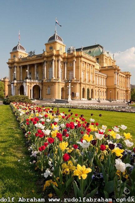 Zagreb national theatre-In all its splendor and beauty! Beautiful Croatia!