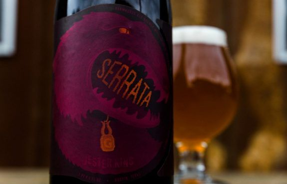 Jester King and Gigantic Serrata collab releases on Friday, March 2nd
