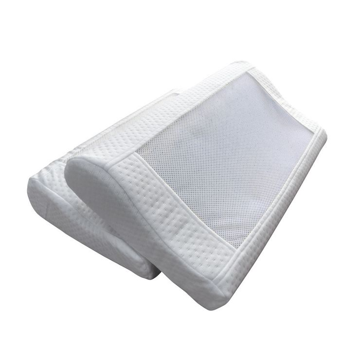 "Gel-Infused Better Sleep Memory Foam Contour Pillow (18"" x 11.5"" x 3.5"")"
