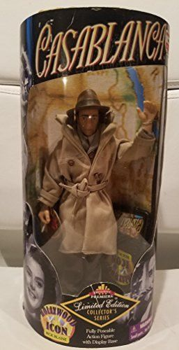 Hollywood Icon Rick Blaine Casablanca Limited Edition Collector's Series Action Figure
