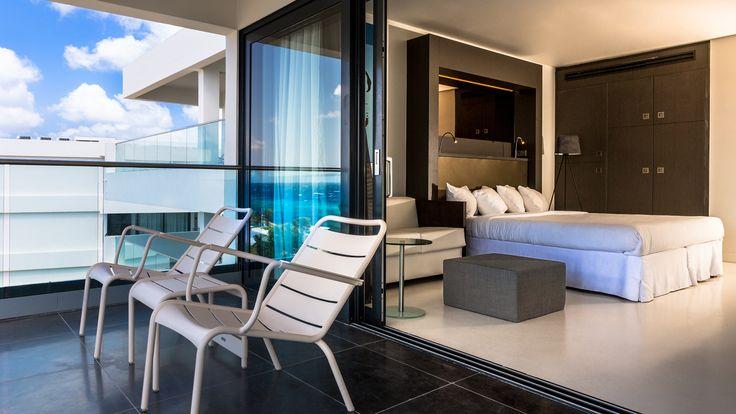 Ocean Front Zimmer im Papagayo Beach Hotel, http://bit.ly/1TH3W3G
