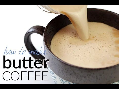 How to Make Butter Coffee - Bulletproof Coffee | Tasteaholics.com