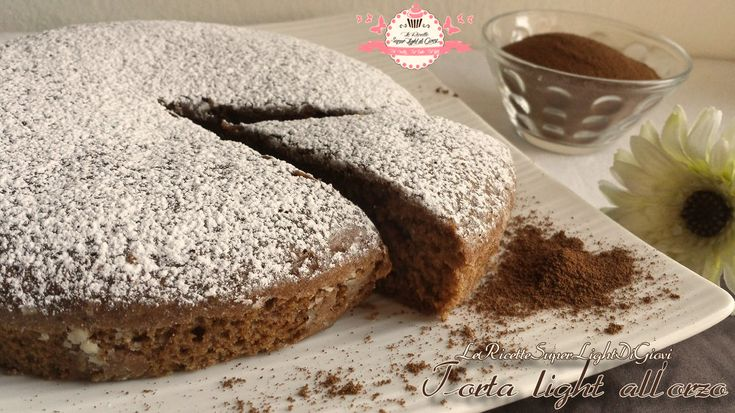 Torta orzo - stile vegan (114 calorie a fetta)