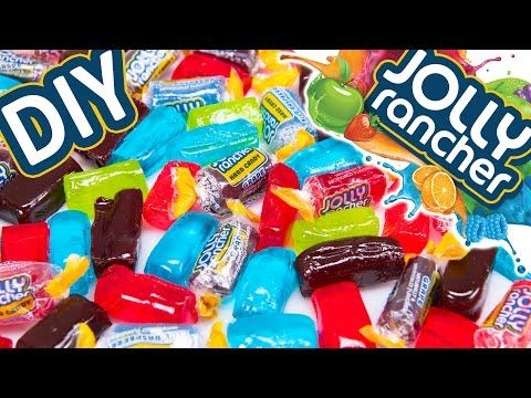 How to make JOLLY RANCHER Candy & Jolly Rancher LOLLIPOPS from Cookies Cupcakes and Cardio - YouTube