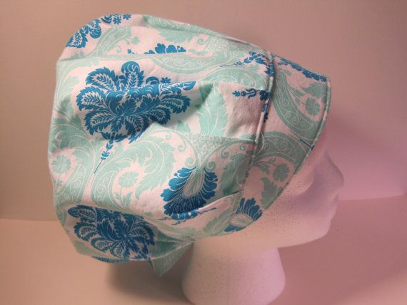 Beautiful Bouffant Scrub Hat, surgical cap, nurses scrub hat, surgical tech scrub hat, doctors scrub hat, medical cap,nurse gift, chemo hat