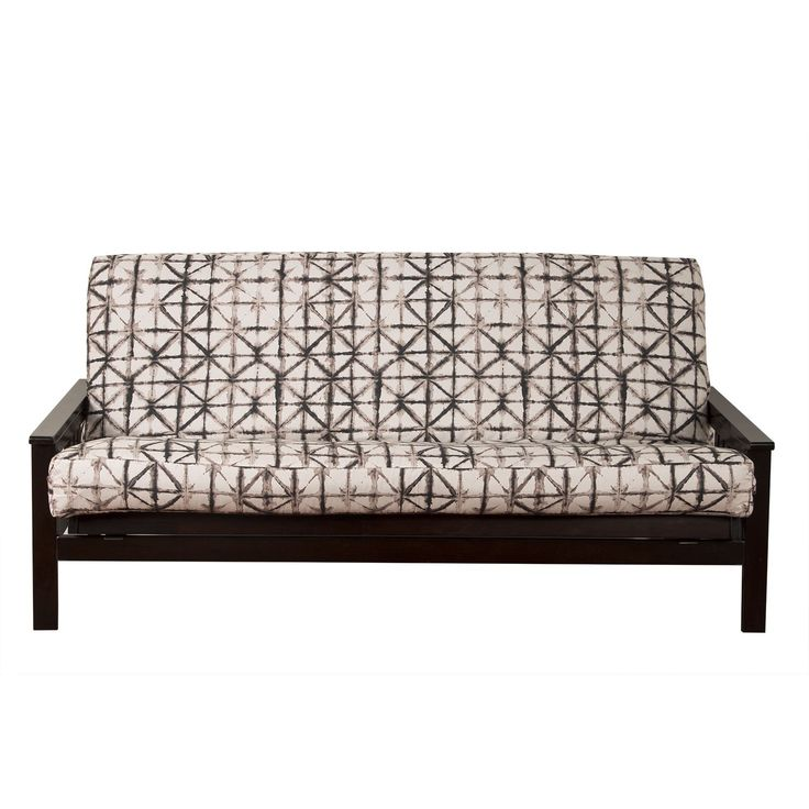 Siscovers Reflection Futon Cover Full 7 Corner Brown