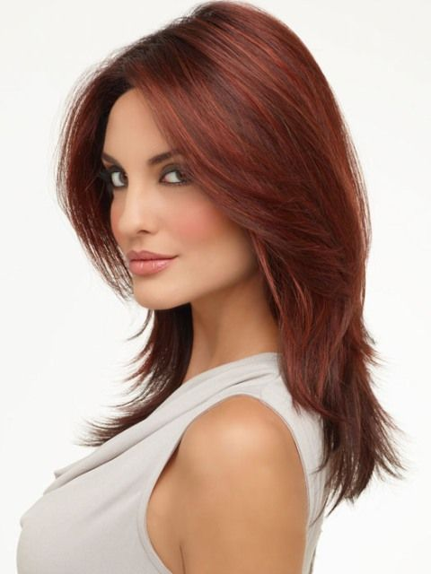 15 Classy and Easy Medium Hairstyles For Heart Shaped ...