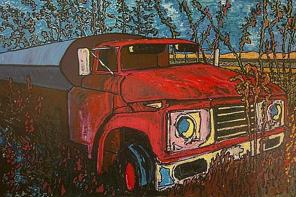 Abandoned oil truck - King City Ontario - 2003
