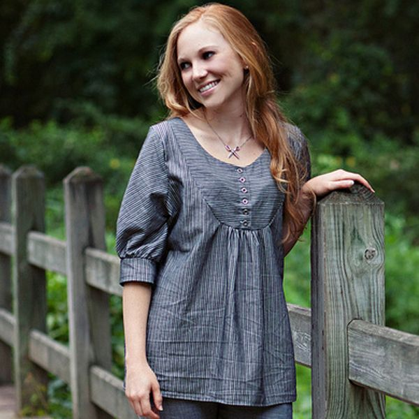 What's cooler than making and showing off your own clothes? Not much! These patterns from Sew Liberated make it easy! These aren't your typical, run-of-the-mill patterns, either. There are stylish peasant-style tops, adorable aprons, and more!