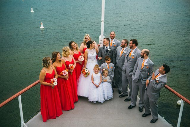 Wedding Party - On the Bow-  Photo by Justine Russo