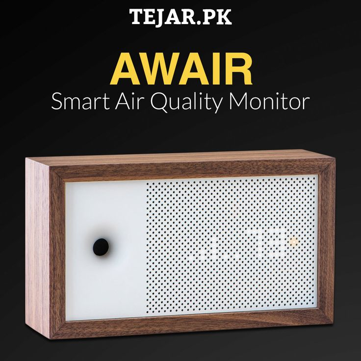 Awair Smart Air Quality Monitor with LED Display