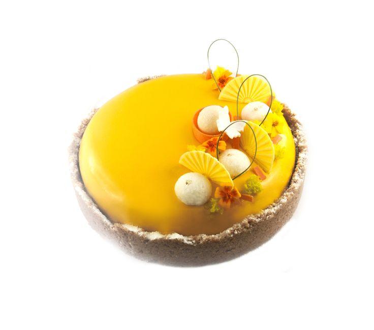 Plus de 1000 id es propos de entremets bavarois sur for Glacage miroir caramel