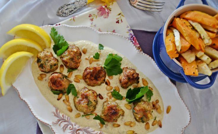 Troll a konyhámban: Marokkói citromos kardamomos húsgombóc tahini szós...