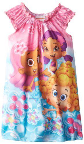 Nickelodeon Girls 2-6x Bubble Guppies Nightgown