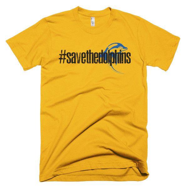 Men's American Apparel Short sleeve t-shirt - Dolphins