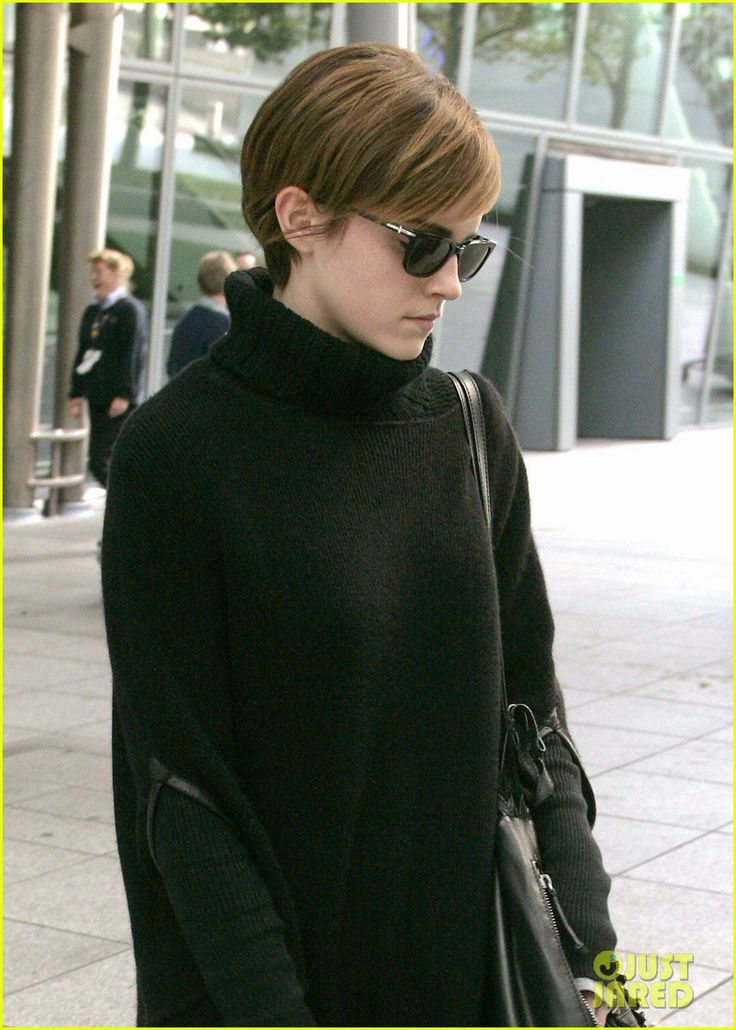 Love Emma Watson s haircut so much... i finally went short and cut it like hers.