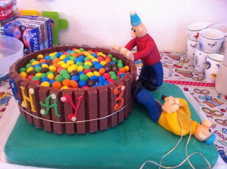 Pat and Mat birthday cake (buurman en buurman taart)
