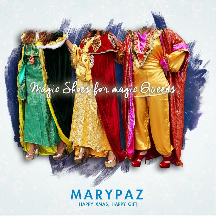 ►► Queridos Reyes Magos ...  ¡ Estas Navidades sólo quiero zapatos !  #itsxmastime #merryxmas #happyxmas #xmastime #partyxmas #shoppingxmas #whislist #queridosreyesmagos #locaporloszapatos  ¡ Encuentra en MARYPAZ el calzado más #trendy al mejor precio  en nuestra amplia red de tiendas y en ►http://www.marypaz.com/