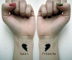 best friend tattoo | Tumblr