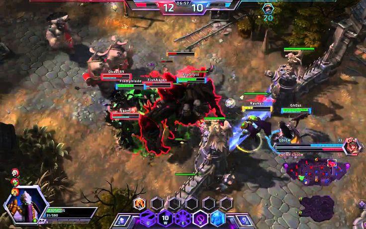 Heroes of the Storm - Zeratul Gameplay #1