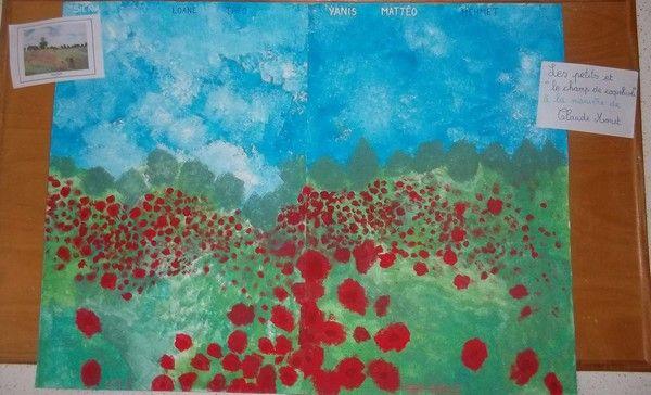 Quelques tableaux trouvés sur le net qui ont été observés et étudiés par les élèves Coquelicots pour les moyens Tableau des petits d'après l'œuvre de Monet Voici un organigramme sur mon projet du jardin si ça intéresse quelqu'un +FICHE ORGANIGRAMME Isabelle...