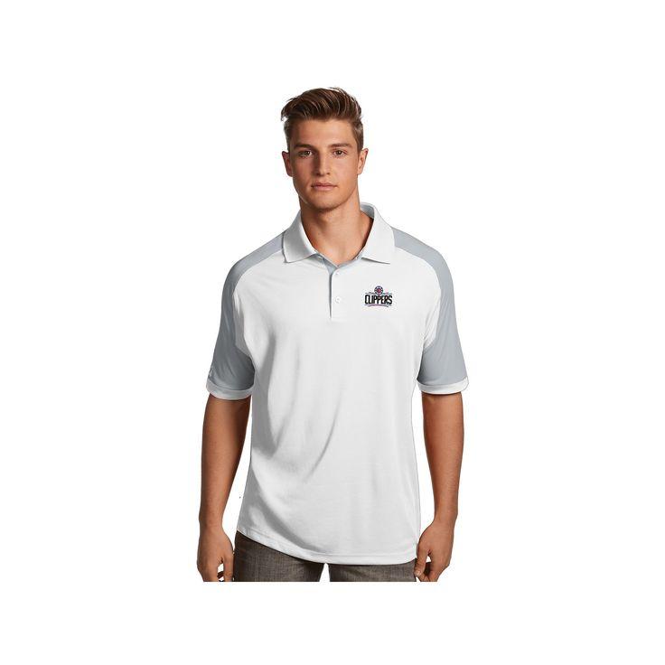 Men's Antigua Los Angeles Clippers Century Polo, Size: Medium, White