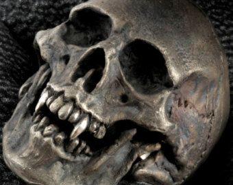 Crâne Pirate anneau crâne et os croisés Ring Mens par DeadRings