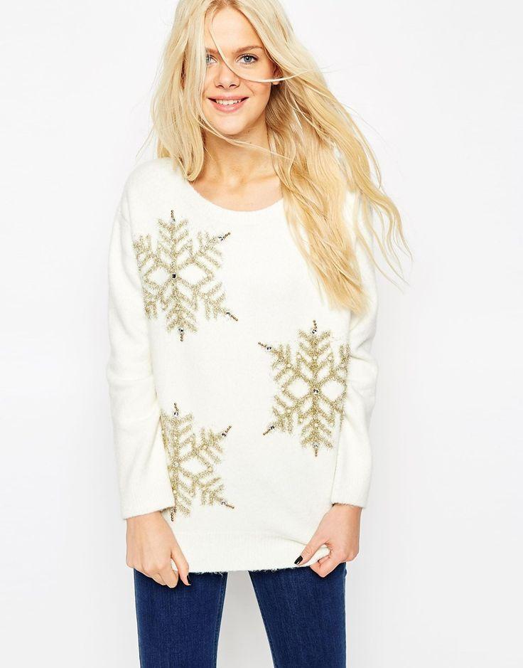 Snowflake Christmas Jumper http://bit.ly/1NRCa1E
