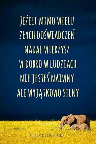 Każdego dnia prosiłam Boga, by dał mi siłę, wiarę i nadzieję. Dziś jestem SILNA, WIERZĘ i mam NADZIEJĘ..  http://justynaolowniuk.pl/w-co-wierzysz .