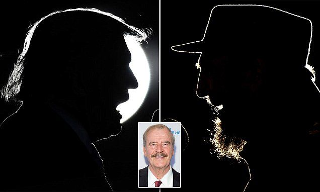 Vicente Fox compared Donald Trump to Fidel Castro on Mornings with Maria http://ift.tt/2g5hgAR