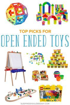 The benefits of open ended toys are many, for toddlers and preschool children especially. Get ideas to encourage open ended play using products that promote creativity and learning.
