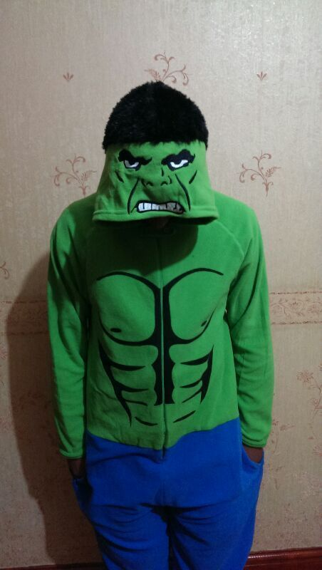 Incredible Hulk Onesie