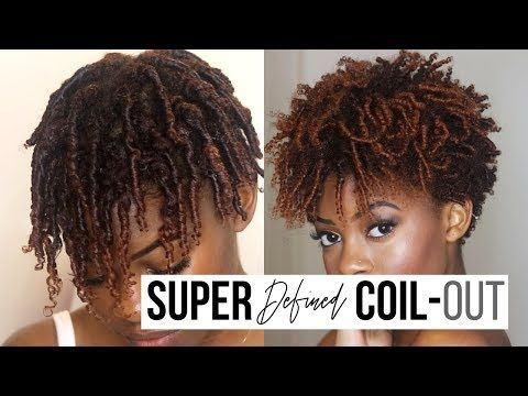 NYE Defined Finger Coil Out!   As I Am Long & Luxe [Video] - Black Hair Information