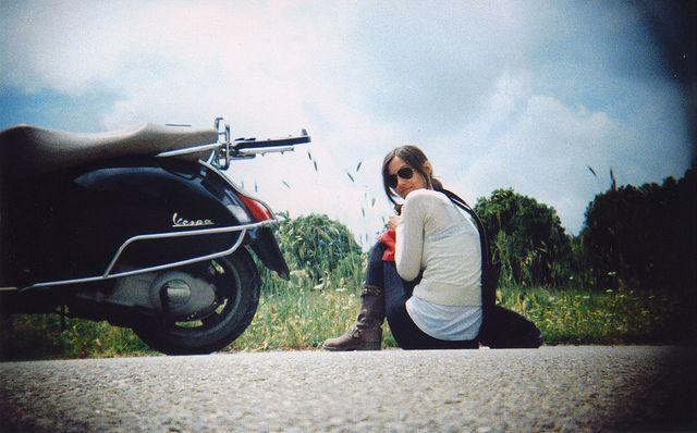 #Vespa #scooter #travels